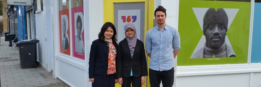 Researchers Edwina Prayogo, Nurul Rahmawati and Thomas Waterfall